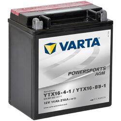 Мото аккумулятор VARTA 514902022