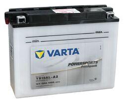 Мото аккумулятор Varta 516016012