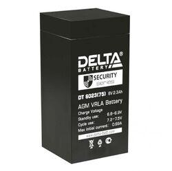 Аккумулятор Delta DT 6023 (75) (6V / 2.3Ah)