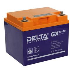 Аккумулятор Delta GX 12-40 (12V / 40Ah)