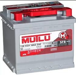 Аккумулятор автомобильный Mutlu 55 а/ч L1.55.054.B