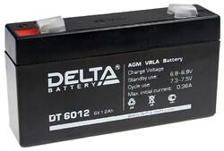 Аккумулятор Delta DT 6012 (6V / 1.2Ah)