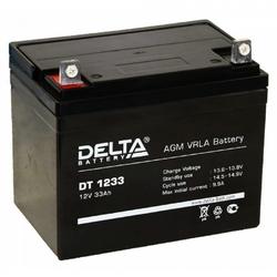 Аккумулятор Delta DT 1233 (12V / 33Ah)