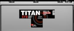 Аккумулятор автомобильный TITAN EFB 225ah 6СТ-225.3 L