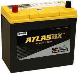 ATLAS S65D26R 75А/ч 750А AGM Start-Stop