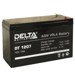 Аккумулятор Delta DT 1207 (12V / 7Ah)