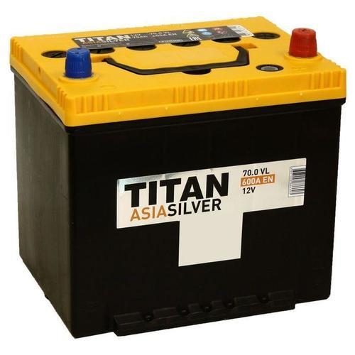 Аккумулятор TITAN ASIA SILVER 70ah, 6СТ-70.0 VL B01