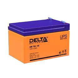 Аккумулятор Delta HR 12-12 (12V / 12Ah)