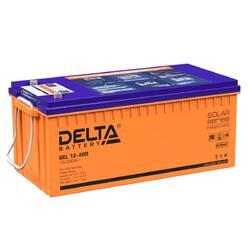 Аккумулятор Delta GEL 12-200 (12V / 200Ah)