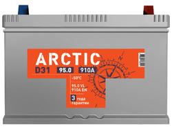 Аккумулятор автомобильный ARCTIC ASIA 95ah 6СТ-95.0 VL B01