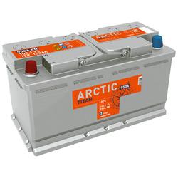 Аккумулятор автомобильный TITAN ARCTIC 100ah 6СТ-100.1 VL
