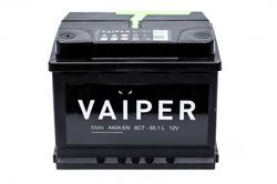 Аккумулятор автомобильный VAIPER 55ah 6СТ-55.1-L