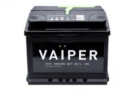 Аккумулятор VAIPER 55ah, 6СТ-55.1-L