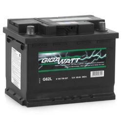 Аккумулятор автомобильный Gigawatt G62L 60А/ч 540A