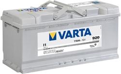 VARTA Silver dynamic-110Ач (I1)  110А/ч  920А