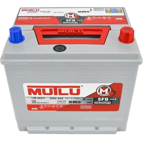 Аккумулятор Mutlu 60 а/ч, D23.60.052.C в СПб