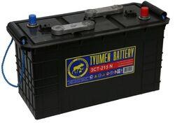 Аккумулятор грузовой Тюмень STANDARD 215 а/ч сухозаряженный п.п. 3СТ-215