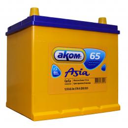 Аккумулятор автомобильный АКОМ ASIA EFB 65 а/ч 670А