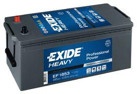 Аккумулятор грузовой Exide EF1853 185 А/ч 1150А