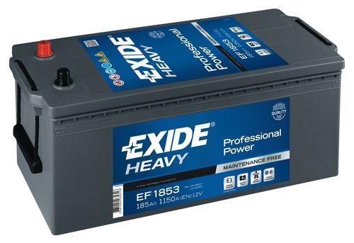 Купить аккумулятор EXIDE EF1853, 185 А/ч 1150А