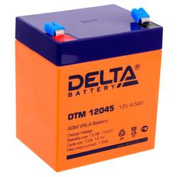 Аккумулятор Delta DTM 12045 (12V / 4.5Ah)