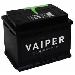 Аккумулятор автомобильный VAIPER 60ah 6СТ-60.0-L