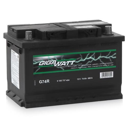 GIGAWATT G74R 74А/ч  680A