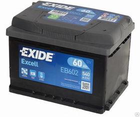 Купить аккумулятор EXIDE EB602, 60 А/ч 540А
