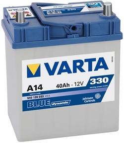Аккумулятор автомобильный Varta blue dynamic A14 (540126033)