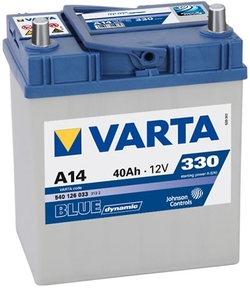 VARTA  Blue dynamic-40Ач (A14)  40А/ч  330А