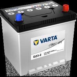 Аккумулятор VARTA Стандарт D23-2 60ah/520a, 6СТ-60.0