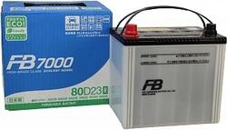 Аккумулятор автомобильный FB 7000 80D23R