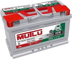 Аккумулятор автомобильный Mutlu 80 а/ч AGM L4.80.080.A