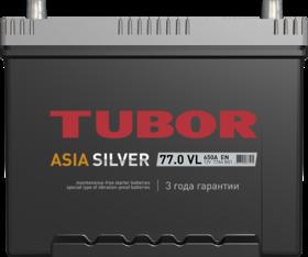 Аккумулятор TUBOR ASIASILVER 77ah, 6СТ-77.0 VL B01