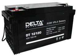 Аккумулятор Delta DT 12120 (12V / 120Ah)