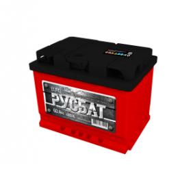 Аккумулятор Русбат 60Ah 480a (L+)