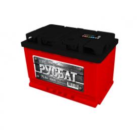 Аккумулятор Русбат 75Ah 650a (L+)
