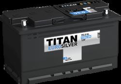 Аккумулятор автомобильный TITAN EUROSILVER 95ah 6СТ-95.0 VL