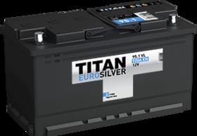 Аккумулятор автомобильный TITAN EUROSILVER 95ah 6СТ-95.1 VL