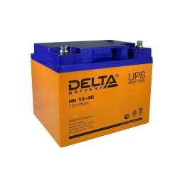 Аккумулятор Delta HR 12-40 (12V / 45Ah)