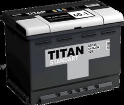 Аккумулятор автомобильный TITAN STANDART 60ah 6СТ-60.1 VL