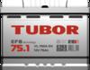Аккумулятор TUBOR EFB 75ah, 6СТ-75.1 VL