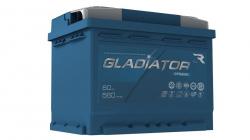 Аккумулятор автомобильный GLADIATOR dynamic 60Ah 560A прямая полярность