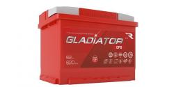 Аккумулятор автомобильный GLADIATOR EFB 62Ah 620А (Start-Stop)