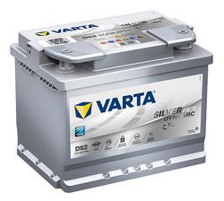 Аккумулятор автомобильный Varta silver dynamic D52 (560901068)