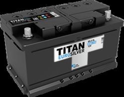 Аккумулятор автомобильный TITAN EUROSILVER 85ah 6СТ-85.0 VL (низк)