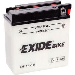 Аккумулятор мото Exide 6N11A-1B 11 А/ч 95А