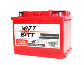Аккумулятор WATTBATT 60Ah 510a (L+)