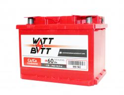 Аккумулятор WATTBATT 60Ah 510a (R+)