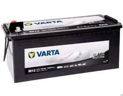 VARTA  Promotive Black-180Ач (M12)  180А/ч  1400А